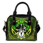 Killeen or O'Killeen Ireland Shoulder HandBag Celtic Shamrock | Over 1400 Crests | Bags | Premium Quality