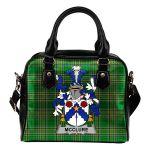 McClure Ireland Shoulder Handbag Irish National Tartan    Over 1400 Crests   Bags   Water-Resistant PU leather