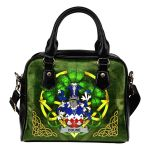 Douse or Dowse Ireland Shoulder HandBag Celtic Shamrock | Over 1400 Crests | Bags | Premium Quality