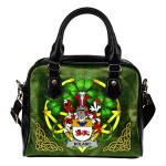 Boland or O'Boland Ireland Shoulder HandBag Celtic Shamrock | Over 1400 Crests | Bags | Premium Quality