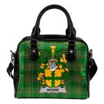 Noone or O'Noone Ireland Shoulder Handbag Irish National Tartan  | Over 1400 Crests | Bags | Water-Resistant PU leather