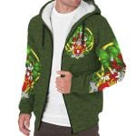 Hart or O'Hart Ireland Sherpa Hoodie Celtic and Shamrock | Over 1400 Crests | Clothing | Apparel
