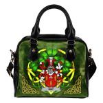 Way Ireland Shoulder HandBag Celtic Shamrock | Over 1400 Crests | Bags | Premium Quality