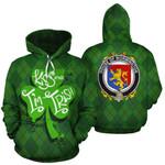 Wormington Family Crest Ireland St Patrick's Day National Tartan Kiss Me I'm Irish