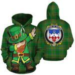 Douse Family Crest Ireland Dabbing St Patrick's Day National Tartan