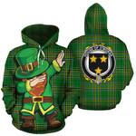 O'Moran Family Crest Ireland Dabbing St Patrick's Day National Tartan