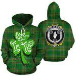 Strong Family Crest Ireland Kiss Me I'm Irish St Patrick's Day National Tartan