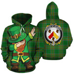 Gilbert Family Crest Ireland Dabbing St Patrick's Day National Tartan