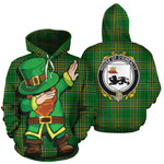 O'Kineally Family Crest Ireland Dabbing St Patrick's Day National Tartan