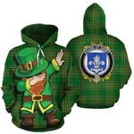 Digby Family Crest Ireland Dabbing St Patrick's Day National Tartan