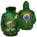 Terry Family Crest Ireland Dabbing St Patrick's Day National Tartan
