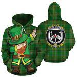 Lewis Family Crest Ireland Dabbing St Patrick's Day National Tartan