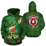 Tonson Family Crest Ireland Dabbing St Patrick's Day National Tartan