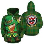 Cadwell Family Crest Ireland Dabbing St Patrick's Day National Tartan