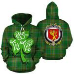 Keigans Family Crest Ireland Kiss Me I'm Irish St Patrick's Day National Tartan