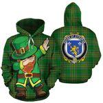 O'Fearon Family Crest Ireland Dabbing St Patrick's Day National Tartan