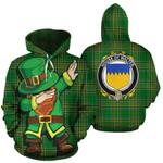 Walter Family Crest Ireland Dabbing St Patrick's Day National Tartan