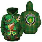 Paisley Family Crest Ireland Dabbing St Patrick's Day National Tartan