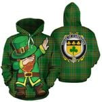 O'Greaghan Family Crest Ireland Dabbing St Patrick's Day National Tartan