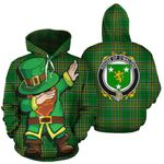 O'Malone Family Crest Ireland Dabbing St Patrick's Day National Tartan