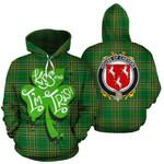Chevers Family Crest Ireland Kiss Me I'm Irish St Patrick's Day National Tartan