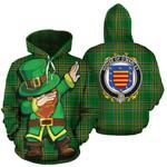 O'Marley Family Crest Ireland Dabbing St Patrick's Day National Tartan