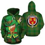 Hamley Family Crest Ireland Dabbing St Patrick's Day National Tartan