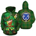 Gibson Family Crest Ireland Dabbing St Patrick's Day National Tartan
