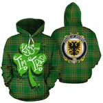 Browne Family Crest Ireland Kiss Me I'm Irish St Patrick's Day National Tartan
