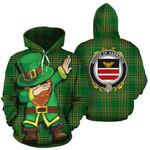 Harrison Family Crest Ireland Dabbing St Patrick's Day National Tartan