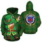 Pendleton Family Crest Ireland Dabbing St Patrick's Day National Tartan