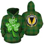 Waterhouse Family Crest Ireland Kiss Me I'm Irish St Patrick's Day National Tartan