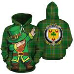Odell Family Crest Ireland Dabbing St Patrick's Day National Tartan