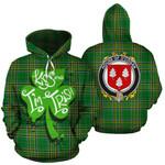 O'Cogan Family Crest Ireland Kiss Me I'm Irish St Patrick's Day National Tartan