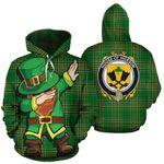 Hickson Family Crest Ireland Dabbing St Patrick's Day National Tartan