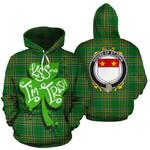 St.John Family Crest Ireland Kiss Me I'm Irish St Patrick's Day National Tartan