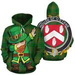 O'Byrne Family Crest Ireland Dabbing St Patrick's Day National Tartan