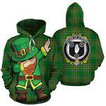 Strong Family Crest Ireland Dabbing St Patrick's Day National Tartan