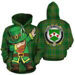 O'Kearon Family Crest Ireland Dabbing St Patrick's Day National Tartan