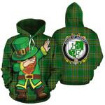 Gogarty Family Crest Ireland Dabbing St Patrick's Day National Tartan