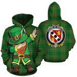 Quelch Family Crest Ireland Dabbing St Patrick's Day National Tartan