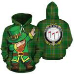 McAlindon Family Crest Ireland Dabbing St Patrick's Day National Tartan