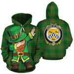 Swift Family Crest Ireland Dabbing St Patrick's Day National Tartan