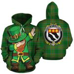 Clements Family Crest Ireland Dabbing St Patrick's Day National Tartan