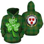 Fitz-Simons Family Crest Ireland Kiss Me I'm Irish St Patrick's Day National Tartan