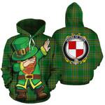 Tuite Family Crest Ireland Dabbing St Patrick's Day National Tartan