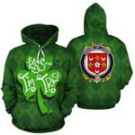 Lydon Family Crest Ireland St Patrick's Day National Tartan Kiss Me I'm Irish