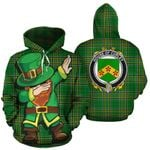 Curley Family Crest Ireland Dabbing St Patrick's Day National Tartan
