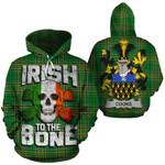 Cooke Family Crest Ireland National Tartan Irish To The Bone Hoodie