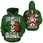 Mulligan Family Crest Ireland National Tartan Irish To The Bone Hoodie